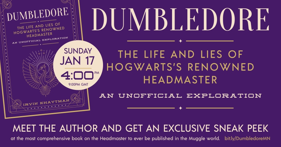 Dumbledore Launch Event